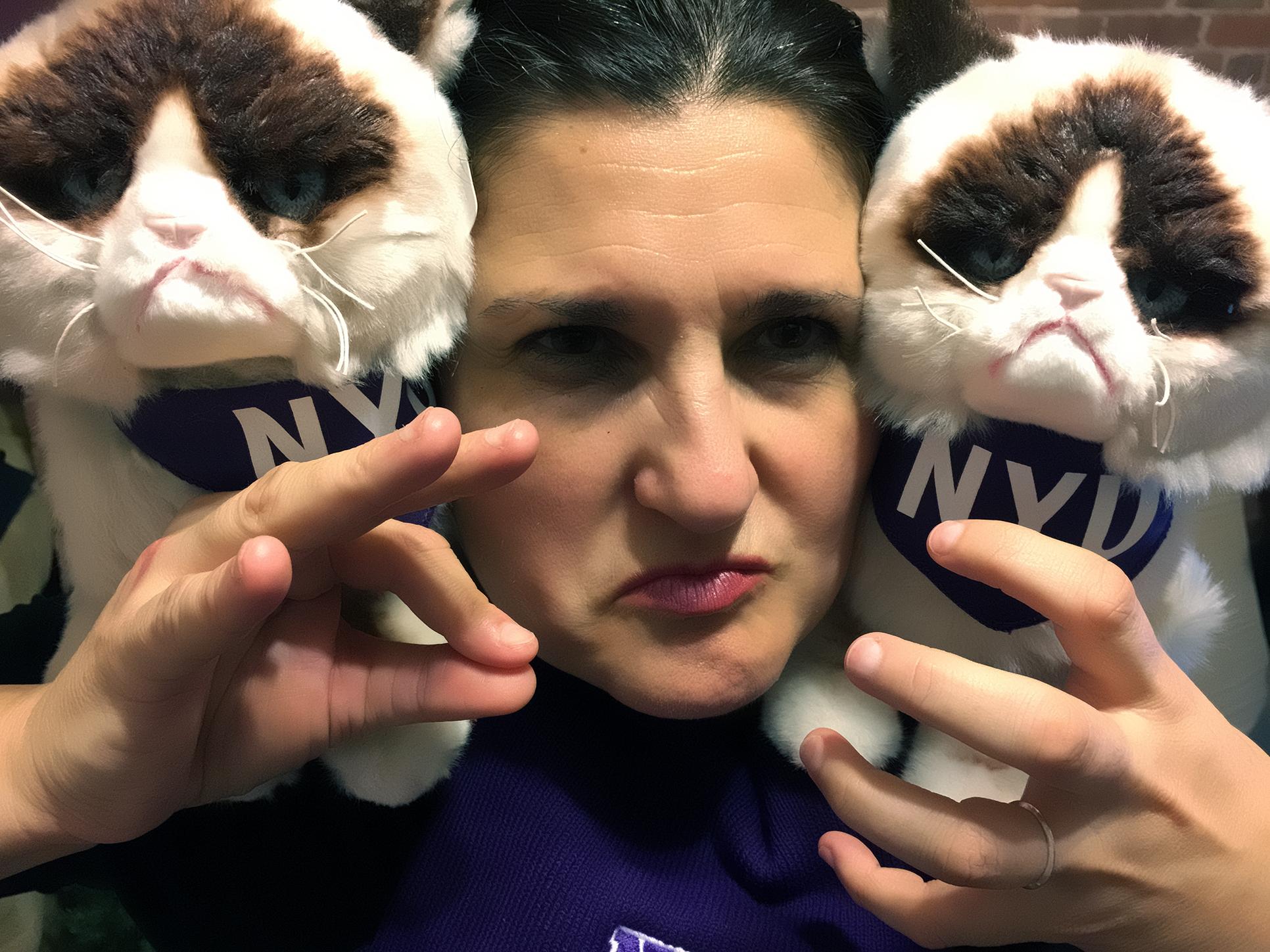 Grumpy Janna Sweenie!